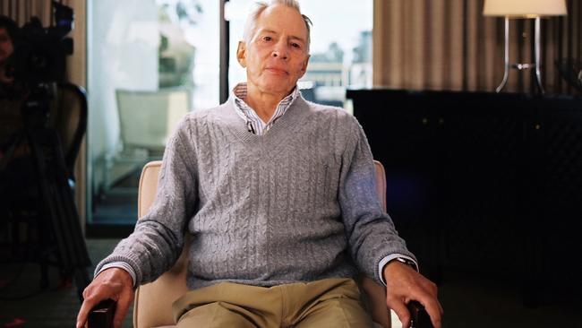 Robert Durst may finally be done.