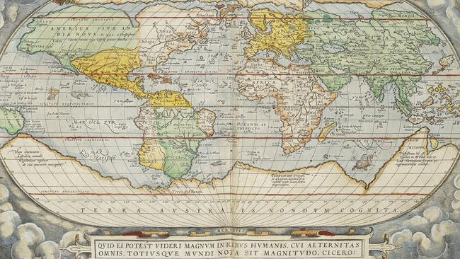old maps show how cartographers charted the coastline of. Black Bedroom Furniture Sets. Home Design Ideas