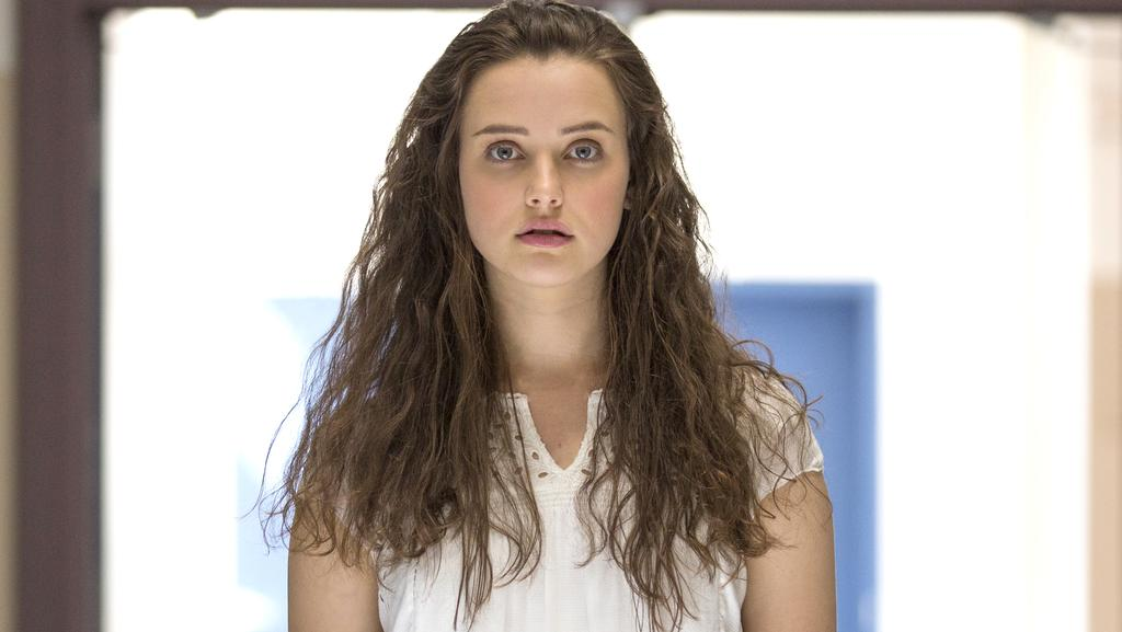Australian actress Katherine Langford stars in the Netflix series 13 Reasons Why.