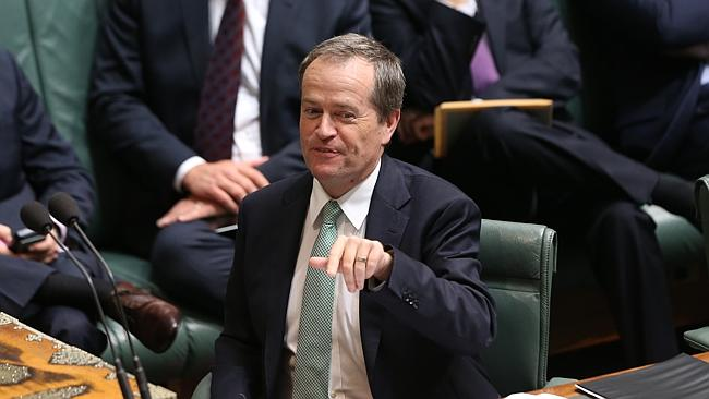 Gotcha ... Shorten's April Fool's Day joke played on the PM's knighthoods announcement of last week.