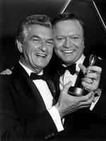"Winner of the Gold Logie Award 1984. Bert Newton for ""The Don Lane Show "" and ""New Faces"", Nine Network. Bob Hawke and Bert Newton at the 1984 Logie Awards presentation."