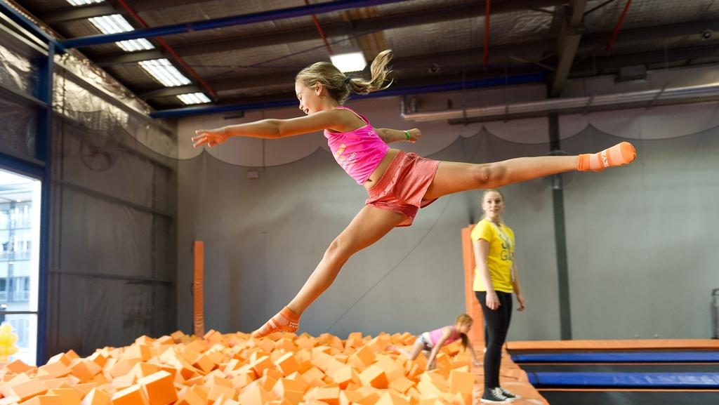 Trampoline Centres Offer A Number Of Activities Including Foam Pit To Cushion Landings