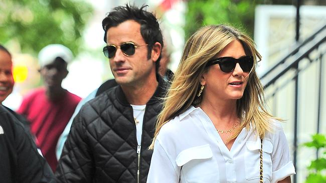 Aniston struggled to settle into life in NYC. Picture: JENY/Splash News