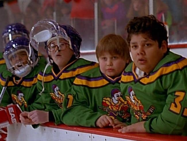 Most of the actors returned in the second Mighty Ducks movie.