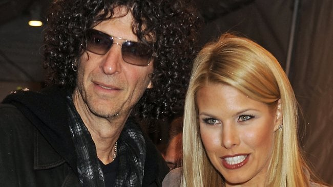 Howard Stern claims he and wife Beth Ostrosky, here in New York in 2010, are being harrassed by cyber-stalkers.