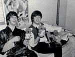 The Beatles Ringo Starr and John Lennon in Australia in 1964. Picture: News Corp
