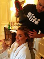 """Margot Robbie, the personal collection... """"Getting ready for the #AboutTime premiere!"""" Picture: WhoSay"""