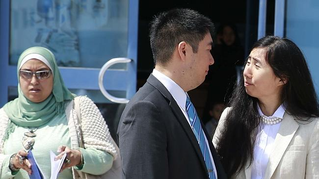 Fighting the decision ... US couple Matthew and Grace Huang plan to appeal the Qatari court ruling. Picture: AFP