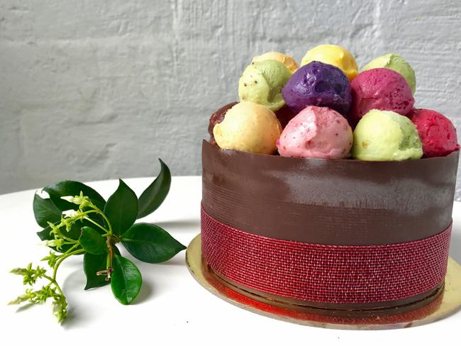 One of Glacé Ice Cream and Sorbet's cakes. Picture: Jenifer Jagielski