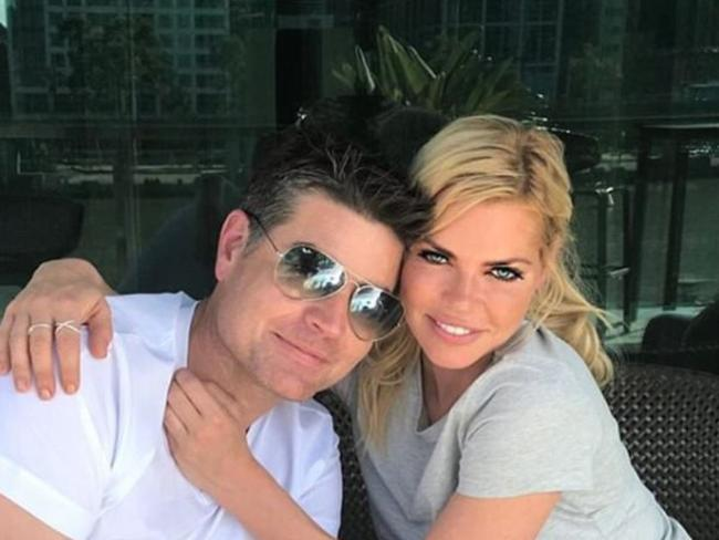 Stu Laundy and Sophie Monk are done. Picture: Instagram