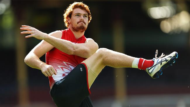 Gary Rohan is a surprise inclusion for the Swans' clash against Gold Coast. Picture: Brett Costello