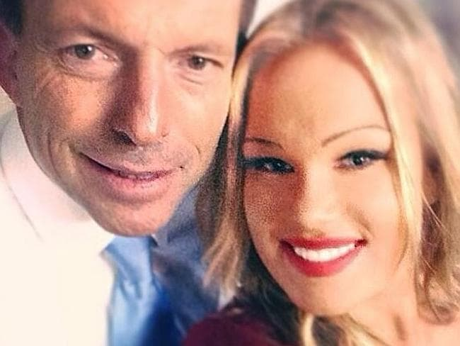 "Ms Candy says former Prime Minister Tony Abbott is ""very friendly and well-mannered""."