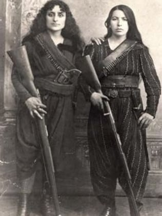 The anti-Turks ... female Armenian fighters in 1895, two decades before the genocide.