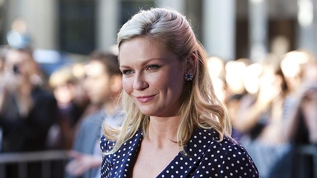 Kirsten Dunst attended the Australian premiere of Anchorman 2.