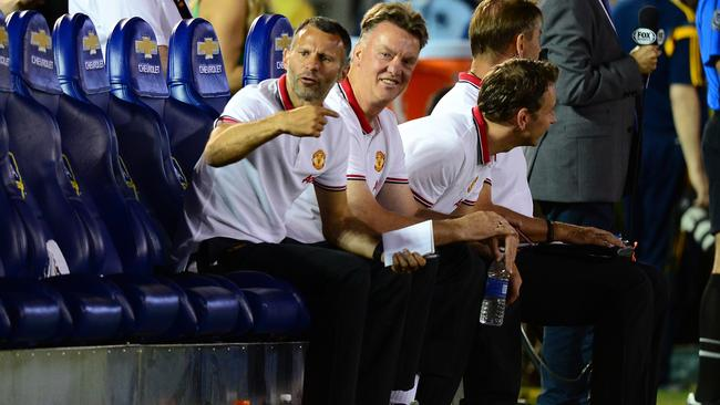 Manchester United's new coach Louis Van Gaal would have enjoyed what he saw in Pasadena.
