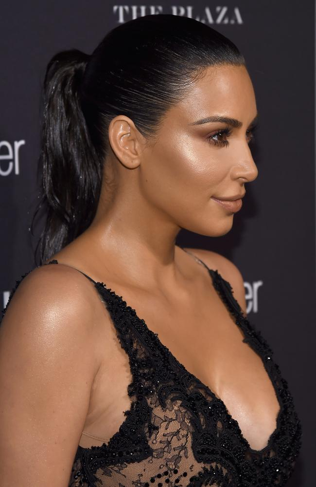 Young women want Kim Kardashian's cheeks, according to leading plastic surgeon, Dr Chris Moss, of Liberty Belle. Picture: Dimitrios Kambouris/Getty Images for Harper's Bazaar