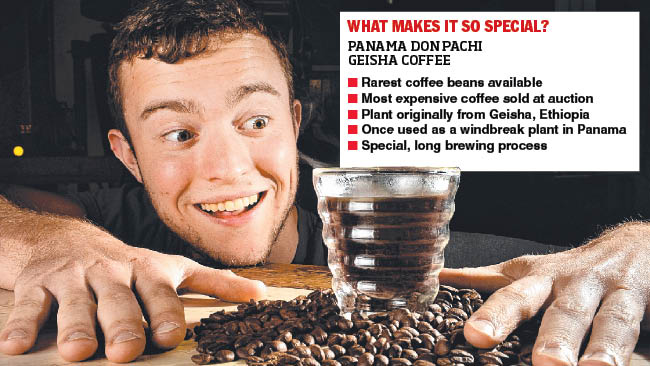 Melbourne's most expensive coffee