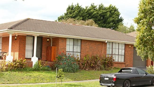 Zabi Ezedyar was shot dead in the driveway of this Narre Warren home last year. Picture: Getty Images