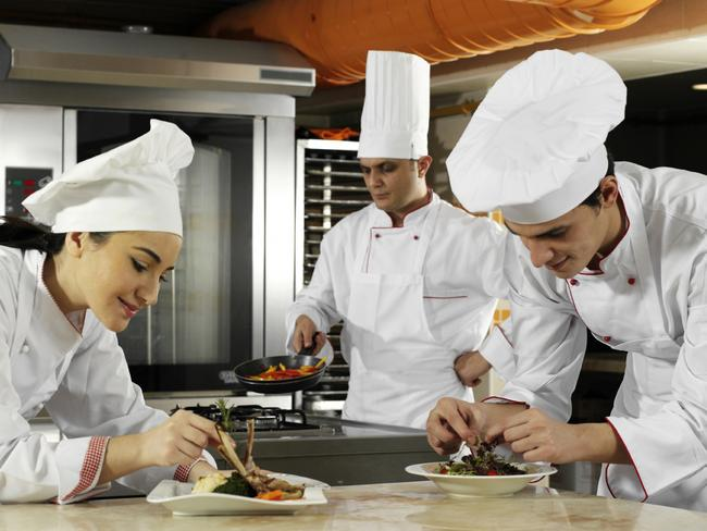 Apprentice chefs say they need more mentoring from those above them. Picture: iStock