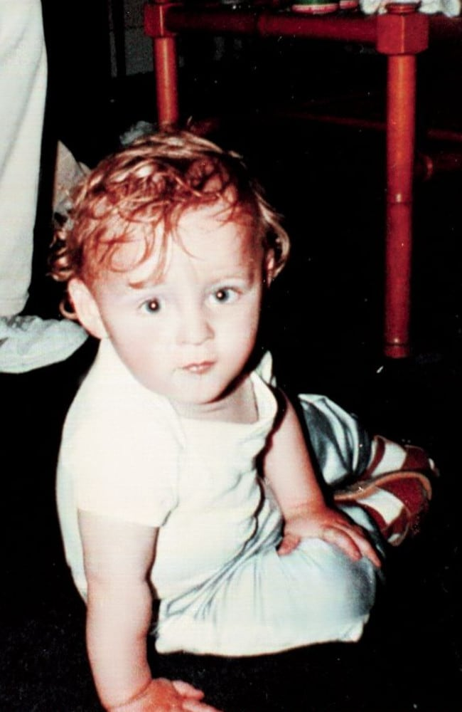 Murder victim James Bulger in 1992. Picture: Ralph Bulger