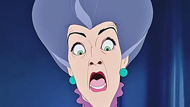 "Lady Tremaine from ""Cinderella""."