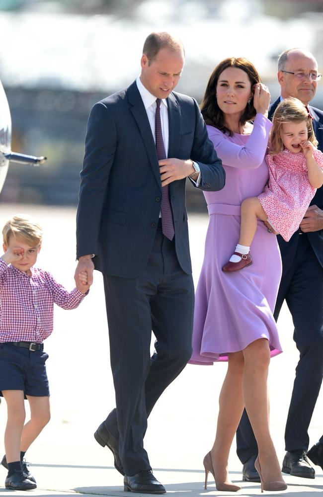 The value of the Royal brand has fallen in recent years as the family try to protect the children's privacy by dressing them in neutral clothes, Brand Finance claims. Picture: Pool/Samir Hussein/WireImage