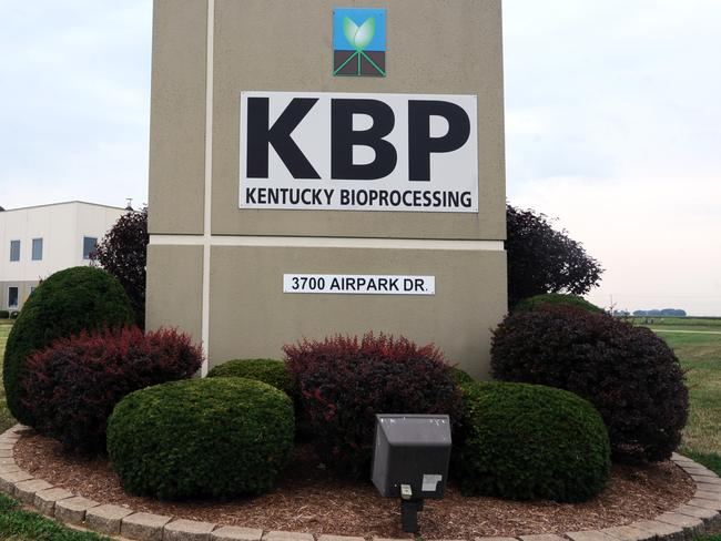 Kentucky Bioprocessing in Owensboro, Kentucky has the ability to supply ZMapp. Pic: AP.