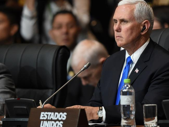 Us Vice-President Mike Pence says there will be military action if the chemical atacks continue.