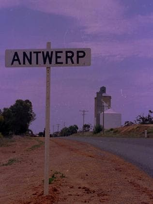 The city limits of Antwerp which local resident Ivan Polack says is still known worldwide for Joan Vollmer's exorcism.