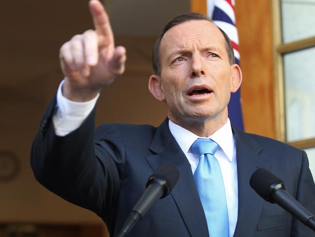 """you voted to scrap the tax in September last year and today the Parliament listened"" ... Prime Minister Tony Abbott"