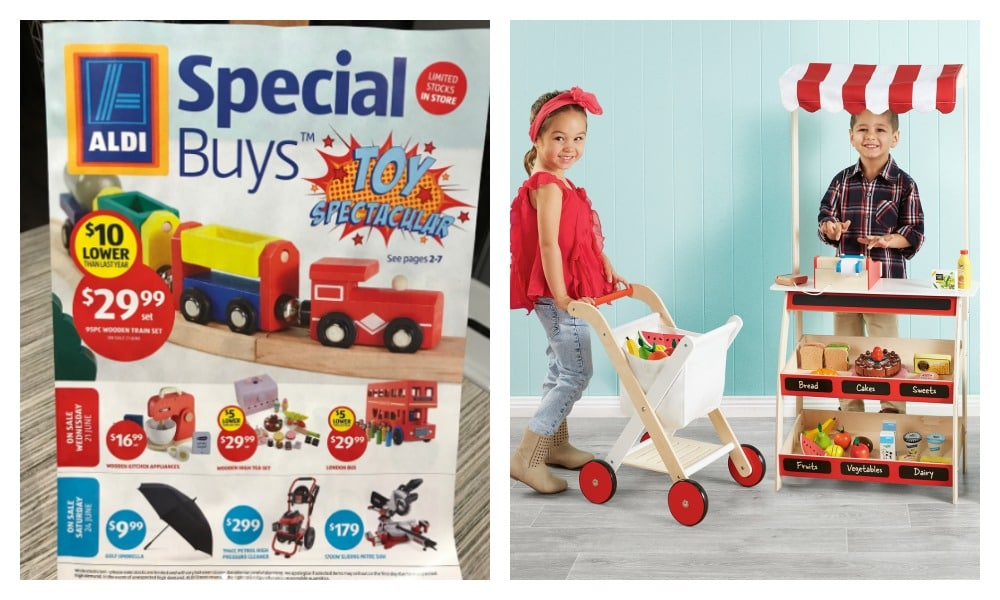 The ALDI Toy Spectacular Special Buys event has been announced