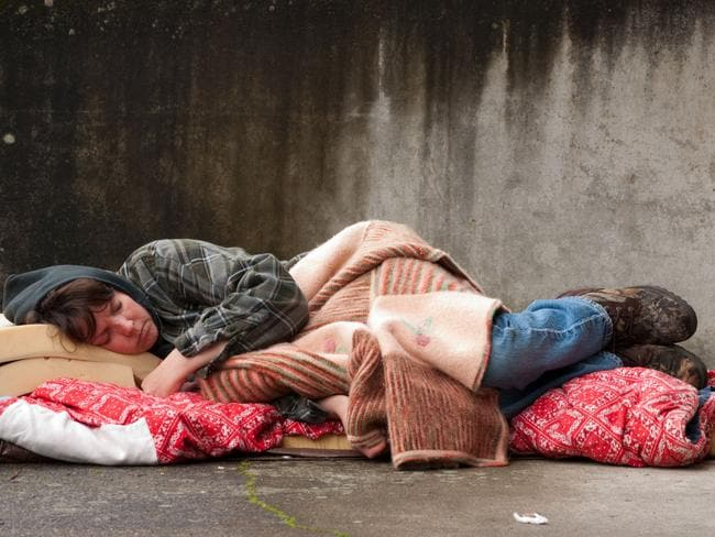 There are over 100,000 people sleeping rough in Australia every night.