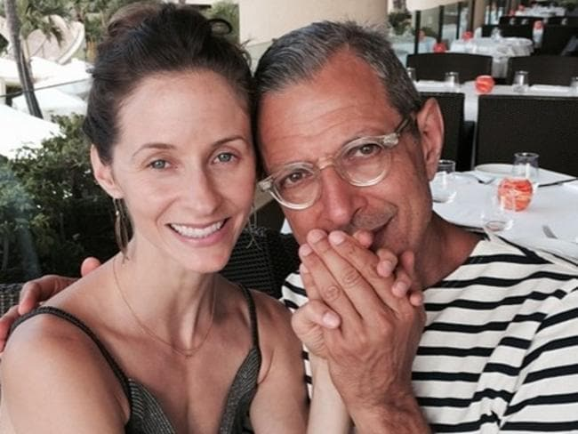 Age no barrier ... The couple celebrated their engagement in Hawaii in July. Picture: Instagram