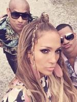 "Jennifer Lopez's mates have the duck lips down pat... ""Preparate. Get Ready!!"" Picture: Jennifer Lopez / Instagram"