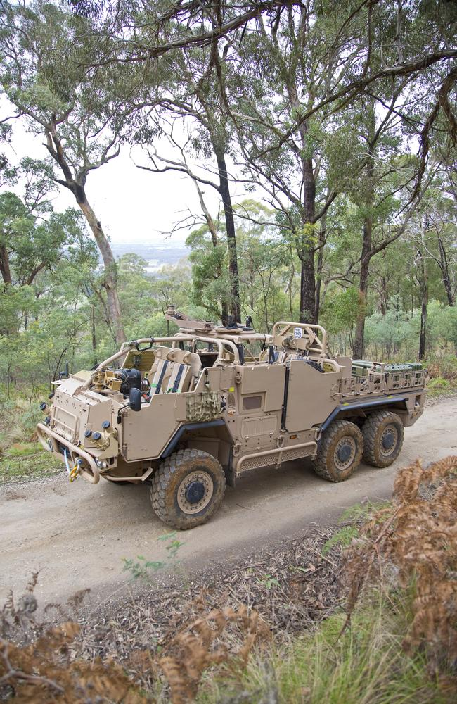 To be assembled in australia ... Defence has paid for state-of-the-art special-forces vehicles. Pictures: Supacat Pty Ltd