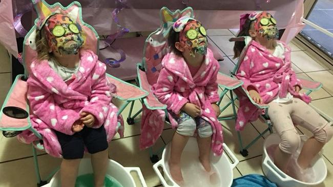 Kmart Mothers Throw Diy Pamper Day For Little Girls