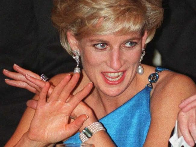 Prince Harry's late mother Diana, Princess of Wales. Picture: AFP