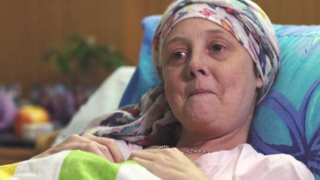 Connie Johnson hasn't given up her fight and she's not ready to die.