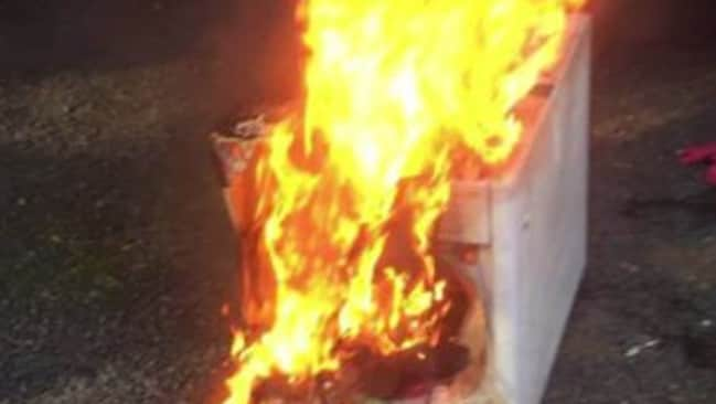Samsung Washing Machine Fire Quick Thinking Man Saves