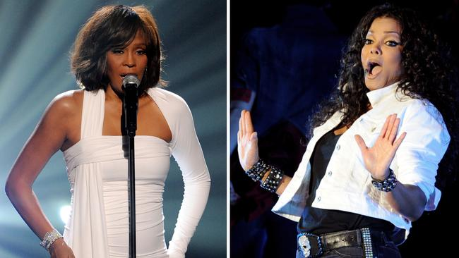 Janet Jackson's label shunned Whitney hit How Will I Know. Picture: Getty Images