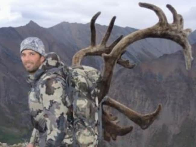 Donald Trump Jr is an avid big game hunter. Picture: Supplied