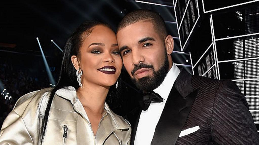 The king of streams Drake (pictured with his ex Rihanna) should be in Australia to tour in the first half of 2017. Picture: Supplied