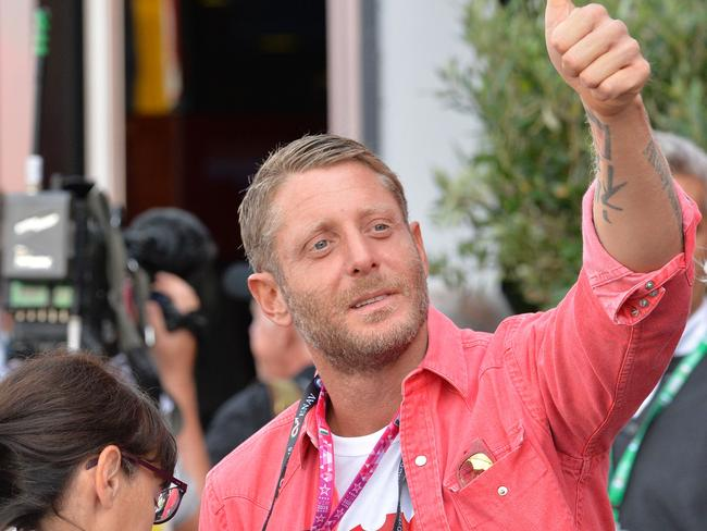 Laps Elkann ahead of the qualifying session at the Autodromo Nazionale circuit in Monza. Picture: AFP.
