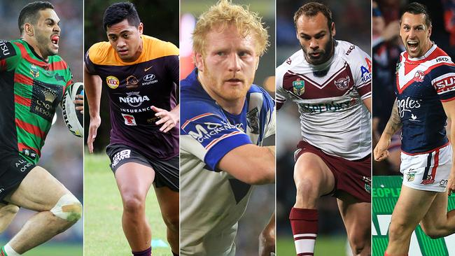 Which NRL roster has the most talent?