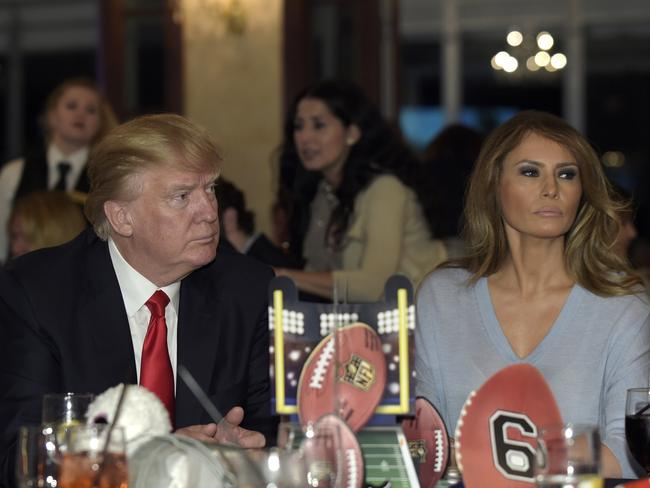 Donald Trump's wife Melania Trump is suing the Daily Mail. Picture: AP Photo/Susan Walsh, File