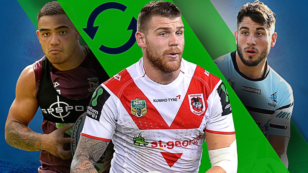NRL changes: Josh Dugan, Blake Ferguson, Dylan Walker ...
