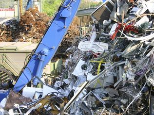 Undated : a Scrapheap. Pic. Istock - scrap metal crane