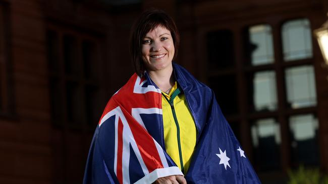 Anna Meares said she was shocked to be handed the greatest honour in the Australian team.
