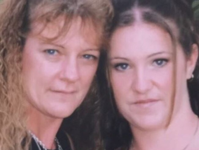 Tara pictured with her mother Karen in happier times. Picture: ABC 7.30