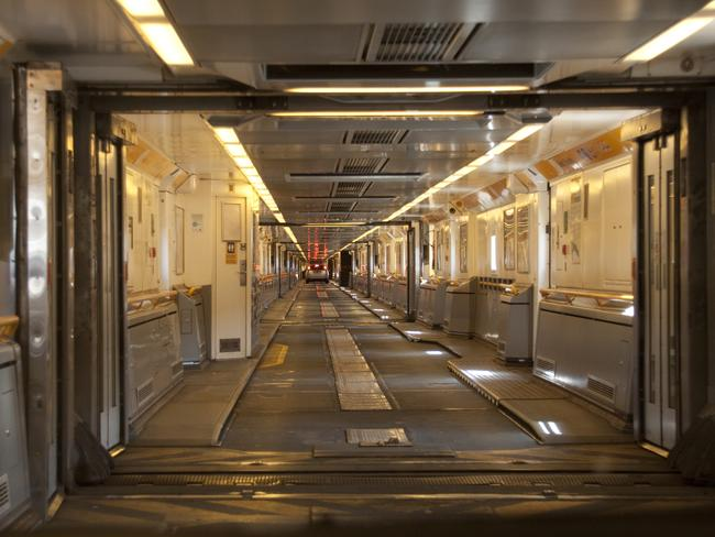 Inside the Channel Tunnel. Picture: Tony Hisgett